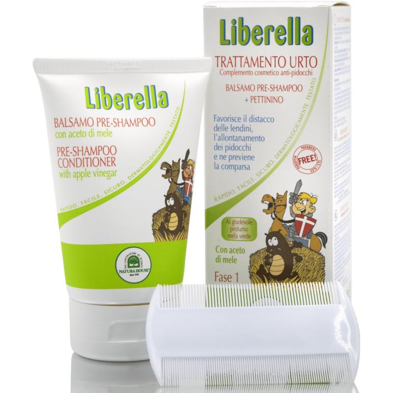 LIBERELLA KONDICIONÉR + HREBEŇ 125 ml