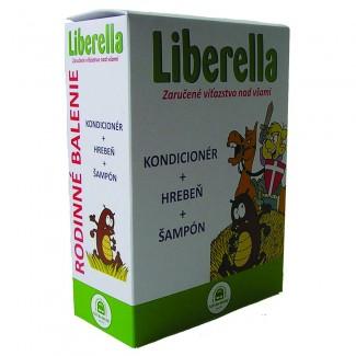 LIBERELLA RODINNÉ BALENIE (kondicionér + hrebeň + šampón)