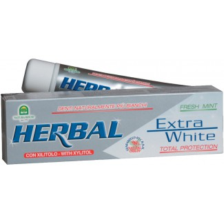 HERBAL EXTRA WHITE ZUBNÁ PASTA BIELIACA 100 ml