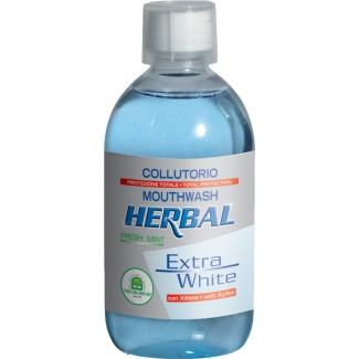 HERBAL EXTRA WHITE ÚSTNA VODA 500 ml